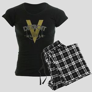 Detroit Muscle copy Women's Dark Pajamas