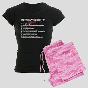 Dating My Daughter - The Rules Women's Dark Pajama