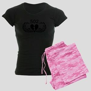 1-502 Black Heart Women's Dark Pajamas