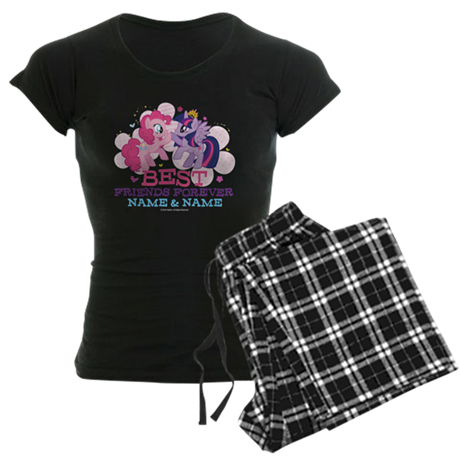 MLP Best Friend Forever Personalized Pajamas