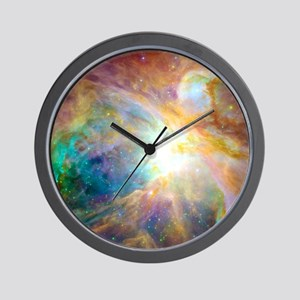 Space Galaxy Wall Clock