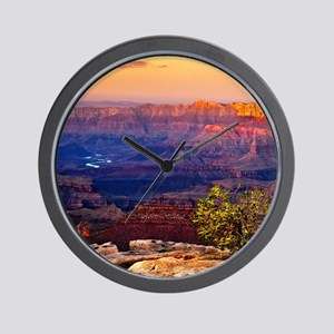 Grand Canyon Sunset Wall Clock