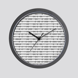 Binary Code 101 Wall Clock