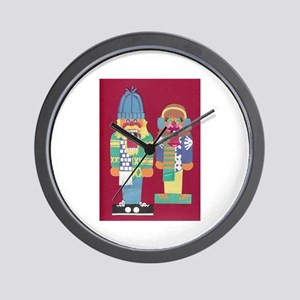 The Nutcrackers Wall Clock