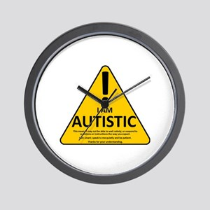 Autism Triad Wall Clock