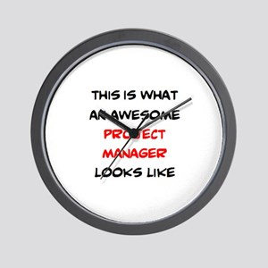 awesome project manager Wall Clock