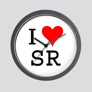 Sr Wall Clocks Cafepress