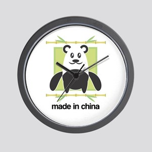 Made in China Panda Wall Clock