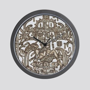 Mayan Ruler Pakal Kim Wall Clock