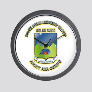 306TH BOMB GROUP Wall Clock