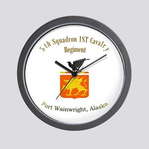 5th Squadron 1st Cav Wall Clock