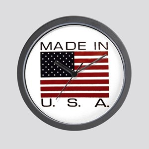 MADE IN U.S.A. Wall Clock
