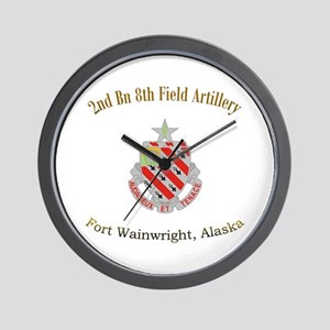 2nd Bn 8th FA Wall Clock