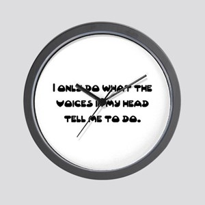 in my head Wall Clock