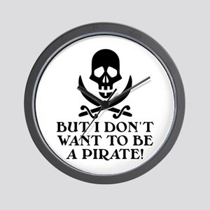 Seinfeld: Pirate Quote Wall Clock