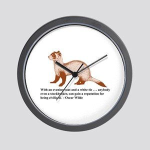 Stockbroker (wall clock)