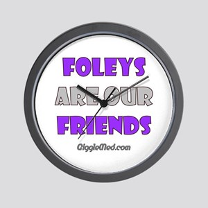 Foley Friends Wall Clock