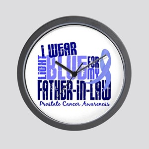 I Wear Light Blue 6.4 Prostate Cancer Wall Clock