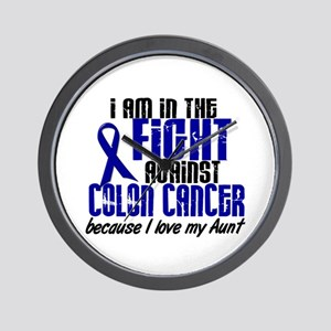 In The Fight Colon Cancer Wall Clock
