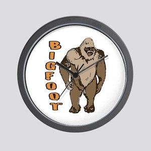 Bigfoot 1 Wall Clock