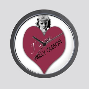 Nelly Oleson Wall Clock