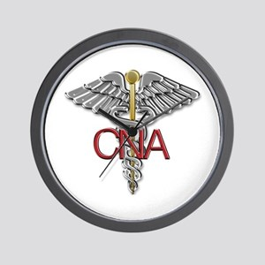 CNA Medical Symbol Wall Clock