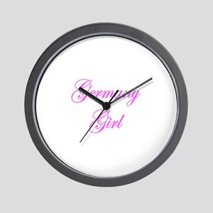 Germany Girl Wall Clock