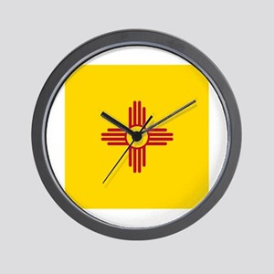 Flag of New Mexico Wall Clock