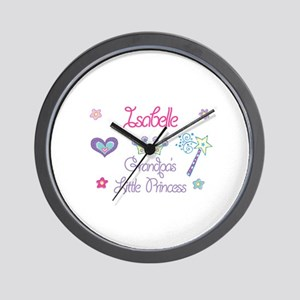 Isabelle Wall Clocks Cafepress