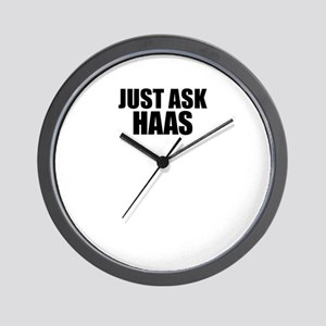 Just ask HAAS Wall Clock