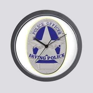 Irving Police Wall Clock