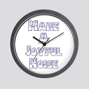 joyful noise Wall Clock