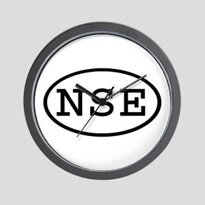 NSE Oval Wall Clock
