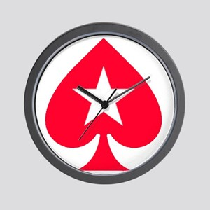 PokerStars Star Wall Clock