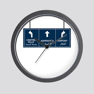 Ashrafieh, Airport, Centre Ville Wall Clock