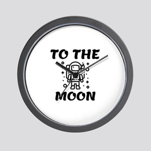 Astronaut to the Moon Wall Clock