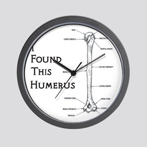 I found this humerus Wall Clock