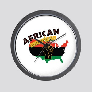 African American Wall Clock