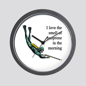 Neoprene Diver Wall Clock