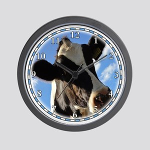 cow-clock Wall Clock