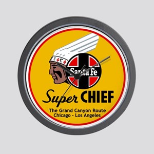 Santa Fe Super Chief1 Wall Clock