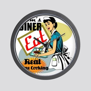 MOMS-DINER Wall Clock