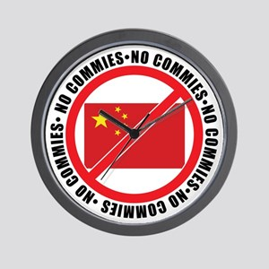 slash commies Wall Clock