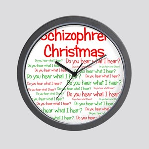 schizophrenia Wall Clock
