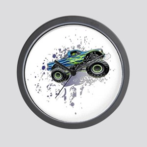 Monster_Truck_Light_cp Wall Clock