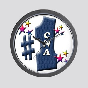 number 1 cna Wall Clock
