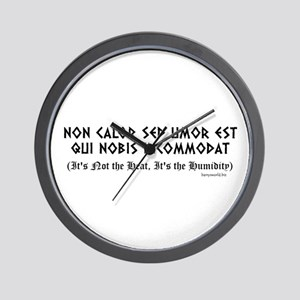 Non Calor Wall Clock
