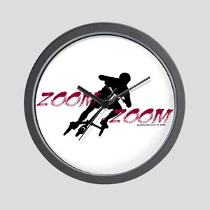 ZOOM ZOOM Wall Clock