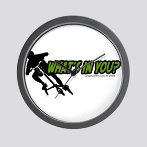 WHAT'S IN YOU? Wall Clock
