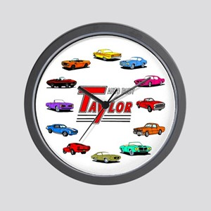 Personalized Auto Body Wall Clock